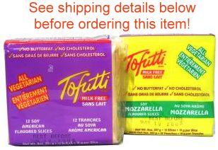"Tofutti ""Cheese"" Slices"