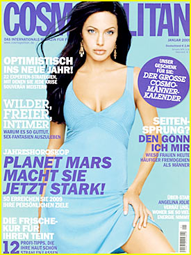 Angelina: German Cosmopolitan Magazine