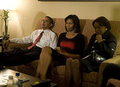 Obama Election Night Backstage Photos (SLIDESHOW)