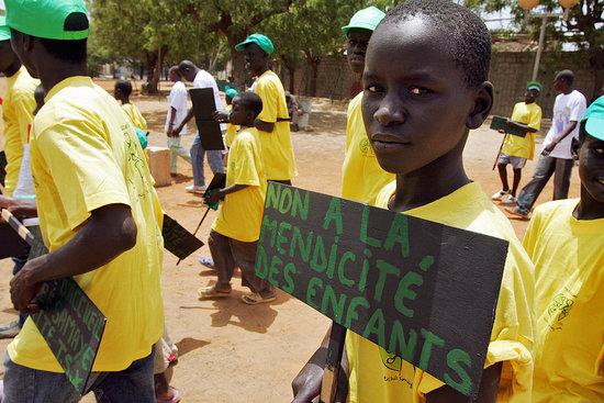 Children in Senegal Begging in the Name of Islam