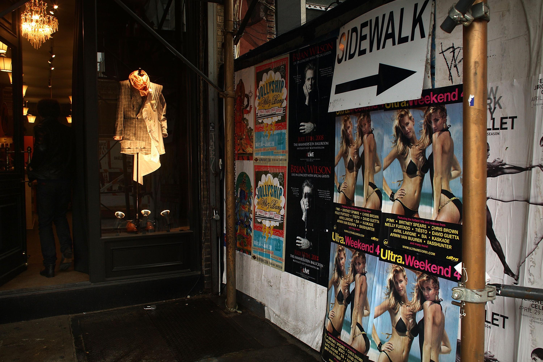 Manhattan's Lower East Side.