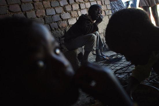 Children Mine Gold in Africa