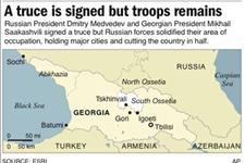 Russia Says Georgia Pullout to Begin Monday