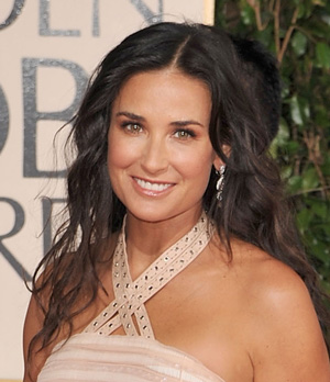 Demi Moore at the 2009 Golden Globe Awards
