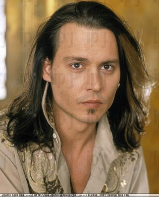 Johnny Depp Flips his long Hair. Hot Or Not?