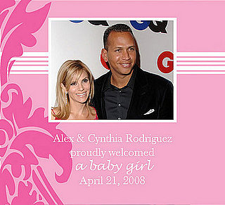 It's a Girl for Alex Rodriguez!
