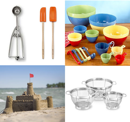 Mommy's Lil Helper: Turn Kitchen Gadgets Into Sand Toys
