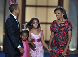 Obama Pulls Families Out of Politics