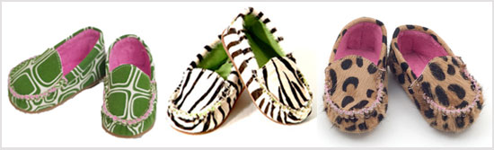 Animal Print Moccasins