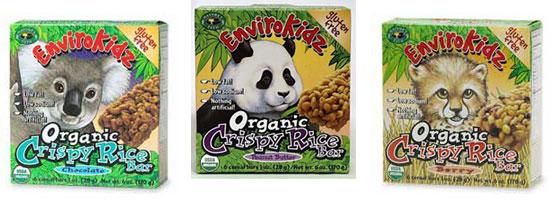 ECOWEEN: EnviroKidz Organic Crispy Rice Bars