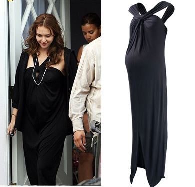 Jessica Alba Maternity Dress