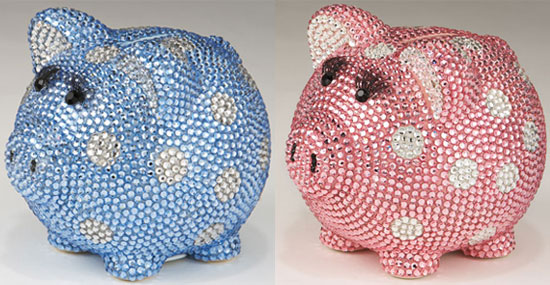 Fancy Piggy Bank
