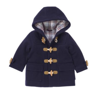 Blue Duffle Coat $88