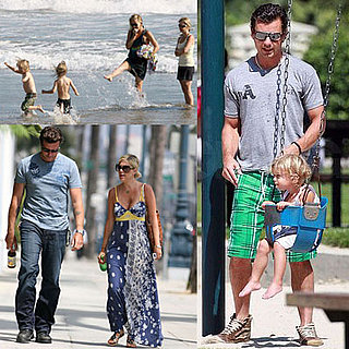 Celebrities and Their Babies Over the Weekend 2008-08-18 15:02:47