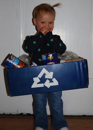 Recycle Box Costume