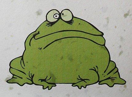 Etsy :: gracegraphics :: Handmade Plantable Greeting Card for Happy Birthday Hoppy Birthday Frog