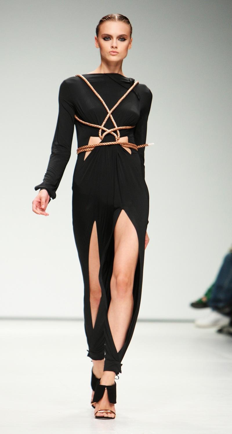 London Fashion Week: Marios Schwab Spring 2009