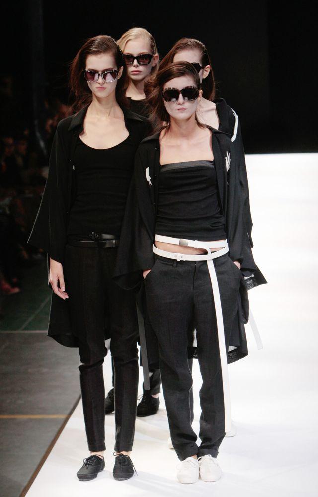 Paris Fashion Week: Yohji Yamamoto Spring 2009