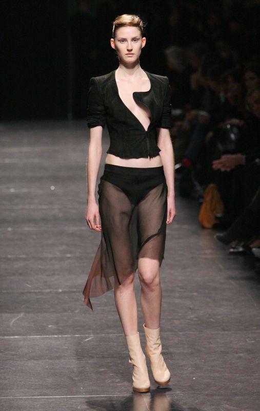 Paris Fashion Week: Haider Ackermann Spring 2009