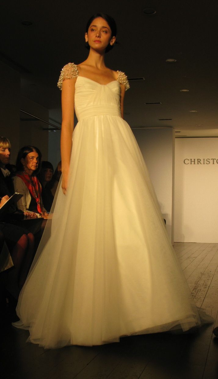 New York Bridal Market: Christos Fall 2009