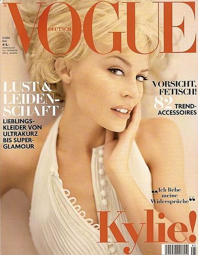 Kylie Minogue German Vogue Cover Girl May 2008