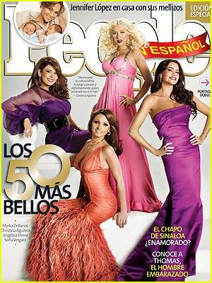 Christina Aguilera Covers People en Español