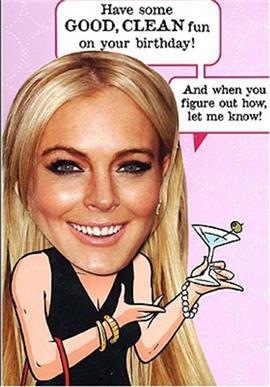 Lindsay's Got A New Hallmark Card