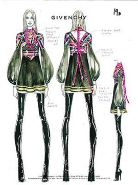 Givenchey Designs For Sticky & Sweet Tour