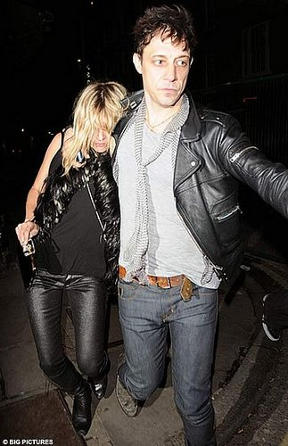 Back in town and back on the lash: Kate Moss celebrates reunion with boyfriend Jamie