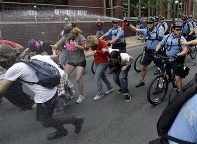 Are there riots at the RNC??