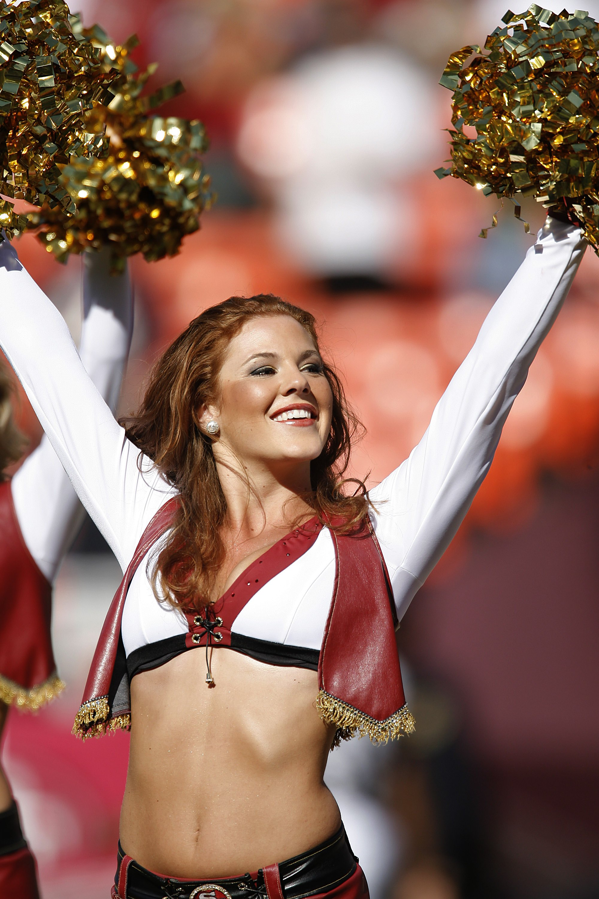 Huh? San Francisco<br /> s football team the 49ers have the Gold Rush cheerleaders!
