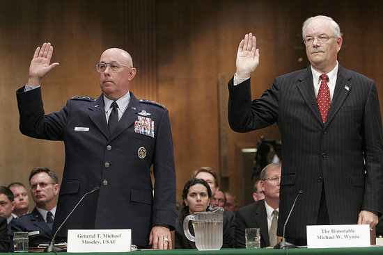 Two Air Force Leaders Ousted For Nuclear Mishap
