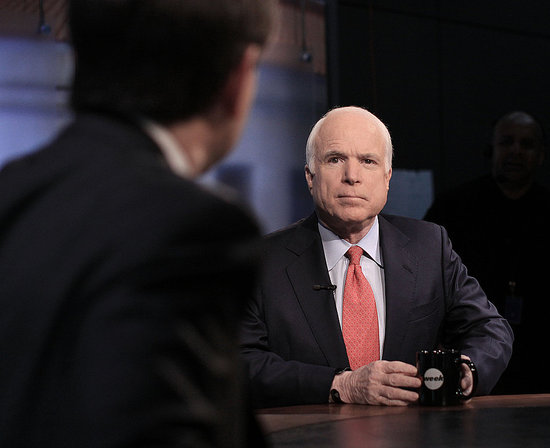John McCain: GOP Should Back Off President-Elect Obama