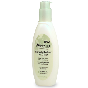 Review of Aveeno Positively Radiant Cleanser