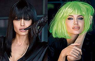 Angelina Jolie's Hair in Vanity Fair