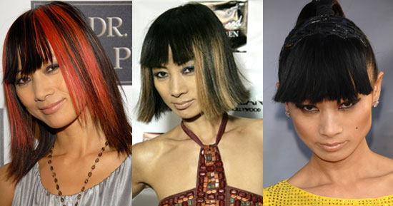 Which Hair Color Do You Like Best on Bai Ling?