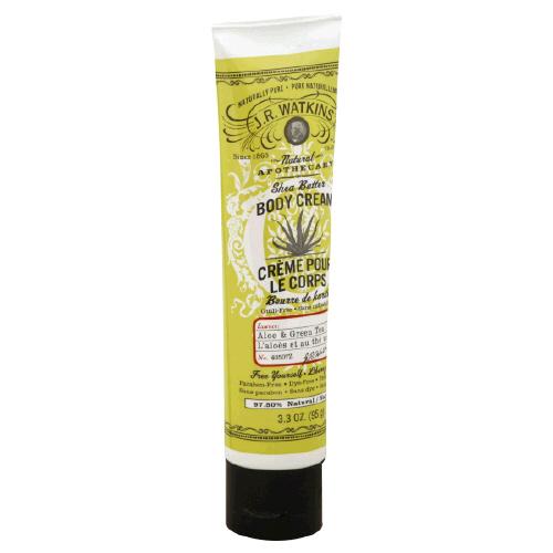 Doing Drugstore: J.R. Watkins Aloe & Green Tea Body Cream