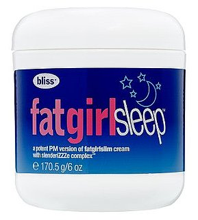 Sunday Giveaway! Bliss Fat Girl Sleep