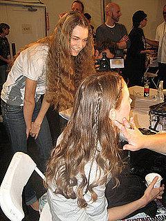 Spring 2009 Fashion Week Nanette Lepore Hair and Makeup