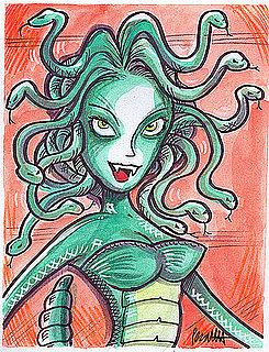 Halloween How-To: Spooky Medusa