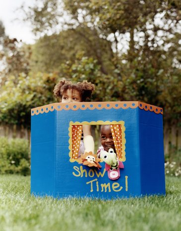 Toy Box:  Puppet Theaters