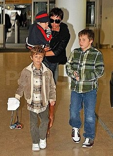 Celebaby Style: Beckham Brothers Go Casual