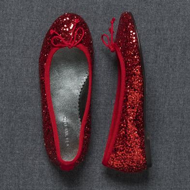 Glittery Shoes For Little Girls