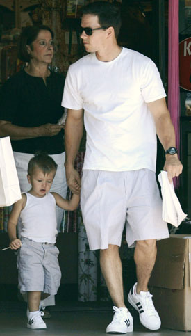 Michael Wahlberg Copies Daddy's Style