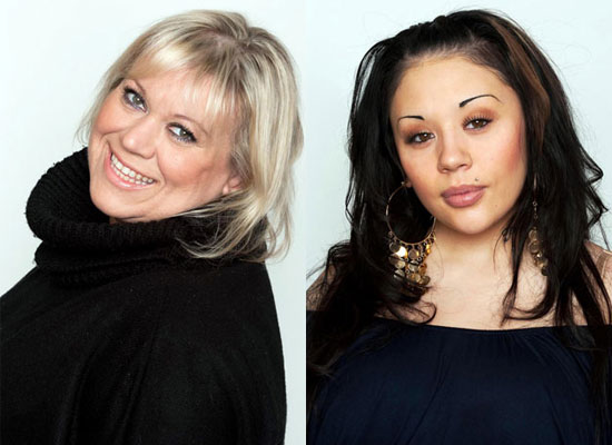 Photos of Tina Malone Who Was the Second Housemate to Be Evicted From Celebrity Big Brother and Mutya Buena Who Walked