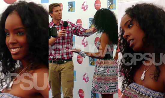 PopSugarUK Exclusive Interview And Pictures With Kelly Rowland At T4 On The Beach 2008