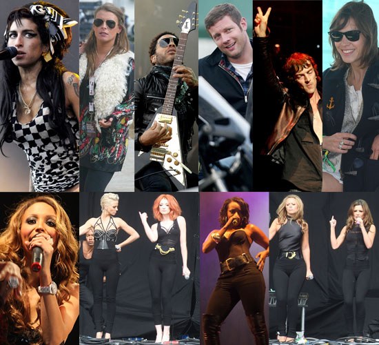 Extensive Gallery Of Photos At 2008 V Festival Featuring Girls Aloud, Amy Winehouse, Sugababes, Jamie Oliver, Alexa Chung etc...