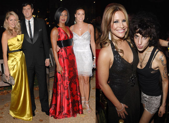 Photos Of Tess Daly, Vernon Kay, Kelli Young, Jessica Taylor, Heidi Range And Amy Winehouse at End of Summer Ball