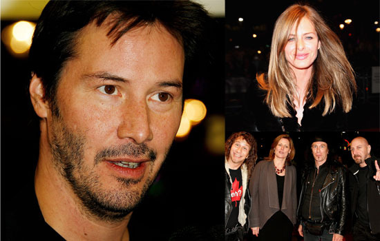 Photos Of Keanu Reeves, Sarah Brown, Trinny Woodall And Anvil At Anvil! The Story Of Anvil UK Premiere At London FIlm Festival