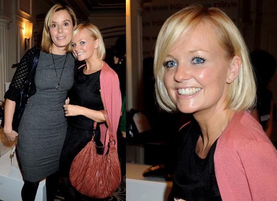 Photos of Emma Bunton and Tana Ramsay at InStyle UK's Handbag Auction